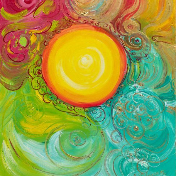 Materialización de las riquezas del paraíso para la paz mundial