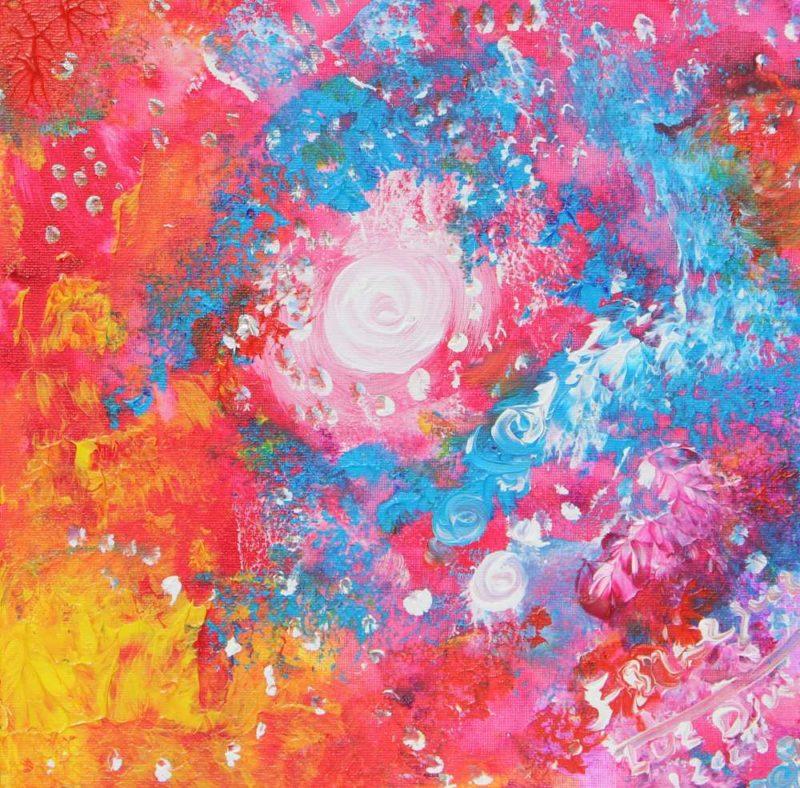 El cosmos pintad