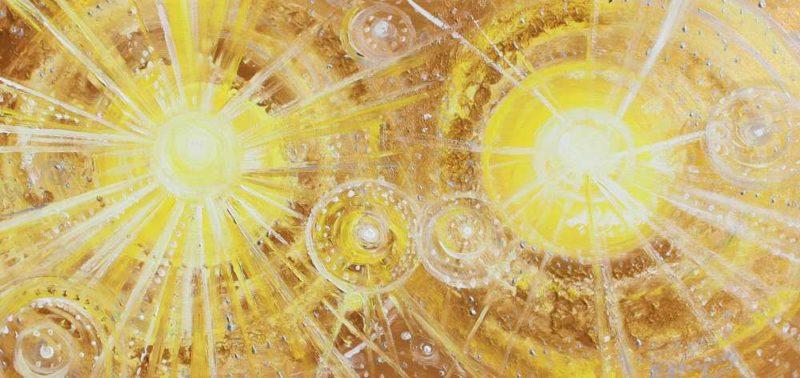 Los dobles soles amarillos del cosmos