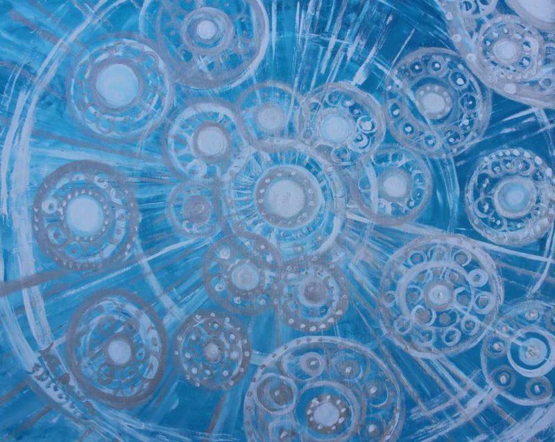 La lluvia de nieve del universo