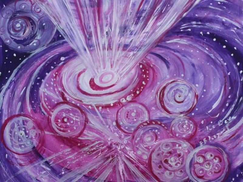 Espectacular energía de la transmutación violeta