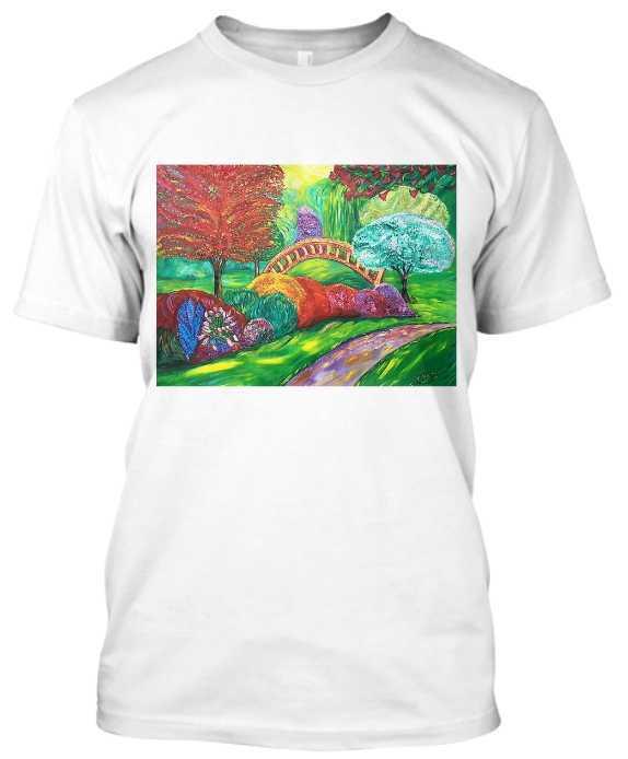 Camiseta estampada con la obra de Francisca Blázquez