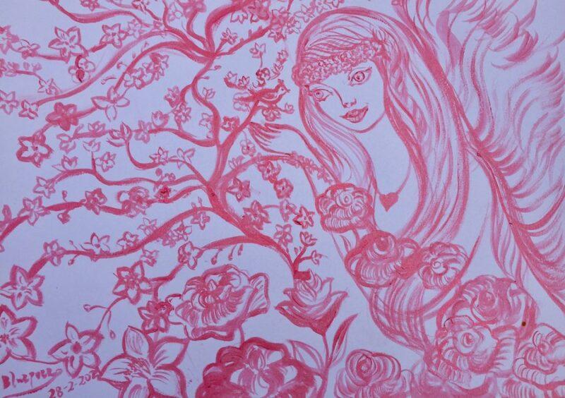 Francisca Blázquez Obra sobre papel