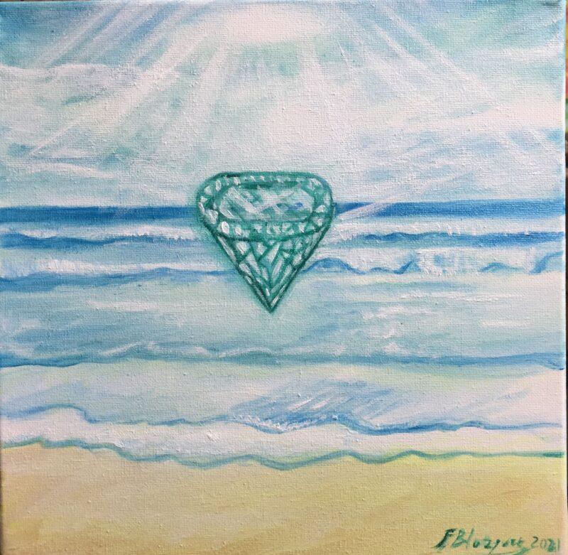 El diamante de la realización de los deseos buenos